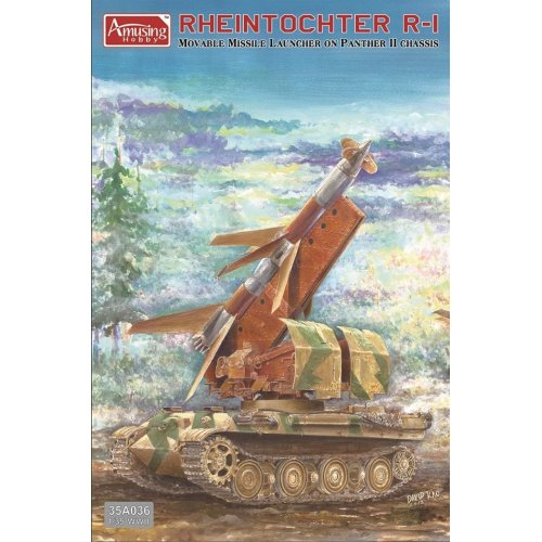 1:35 Rheintochter R-1 on Panther II chassis Military Model Kit