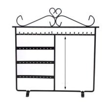 Jewelry Organizer Ring Necklace Earring Bracelet Holder Display Board Stands Box