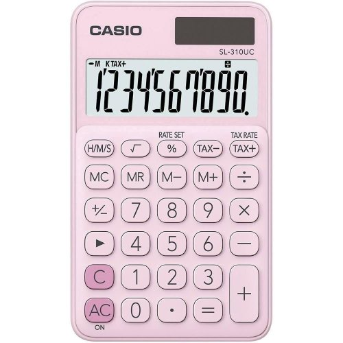 My Style 10 Digit Handheld Calculator - Pink