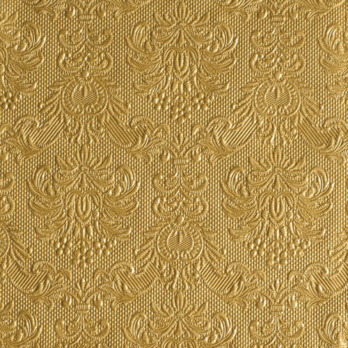 Ambiente 3 Ply Paper Lunch Napkins, Elegance Gold