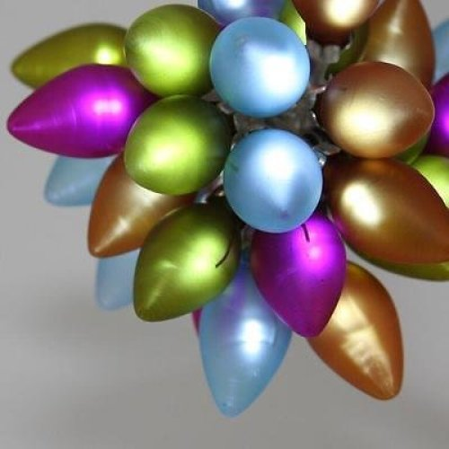 Festive Multi-Coloured LED Fairy Lights Chain - Battery Operated