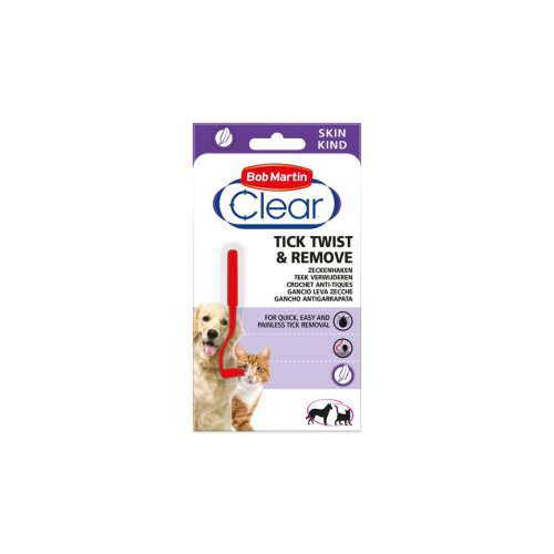 Bob Martin Clear Tick Twist & Remove (Pack of 10)