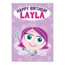 Birthday Card - Layla