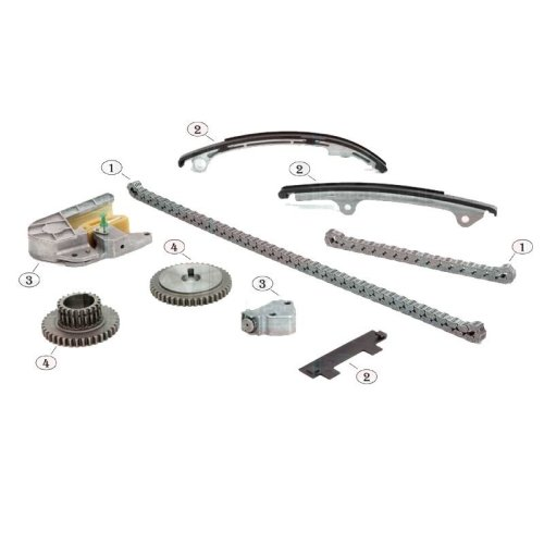 Nissan Primera P12 2.0 16v Petrol 2002-2008 Timing Chain Kit