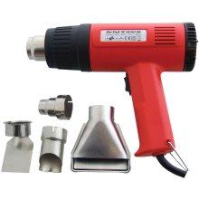1500w Hot Air Gun With Two Heat Settings -  1500w hot air gun paint stripper heat 4 tool nozzles diy watt wall shrink power