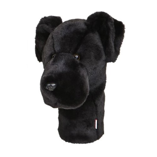 Daphnes Black Labrador Golf Driver Headcover