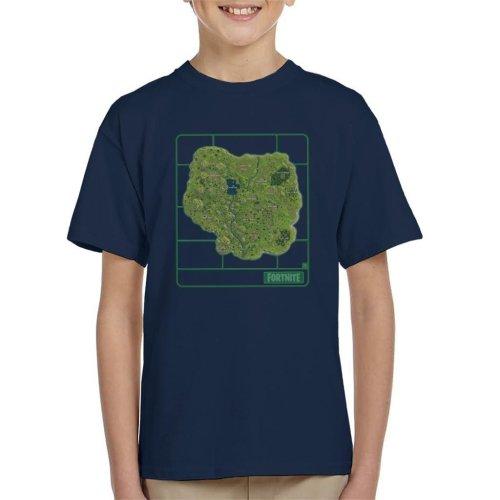 Fortnite Map Airfix Kid's T-Shirt