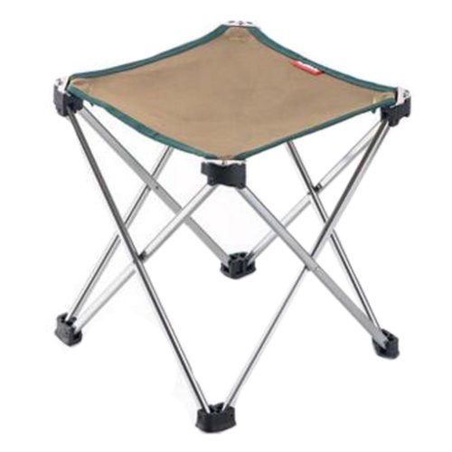 Portable Folding Chair Stool Camping Chairs Fishing Train Travel Paint Outdoor, Grand Khaki