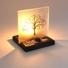 Tree Of Life T-Light Holder With Enlightened Display