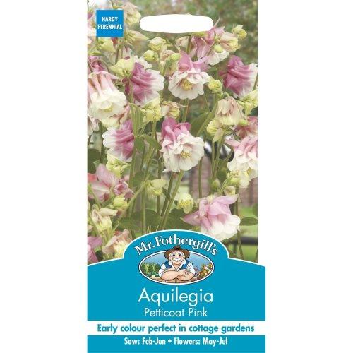 Mr Fothergills - Pictorial Packet - Flower - Aquilegia Petticoat Pink - 50 Seeds