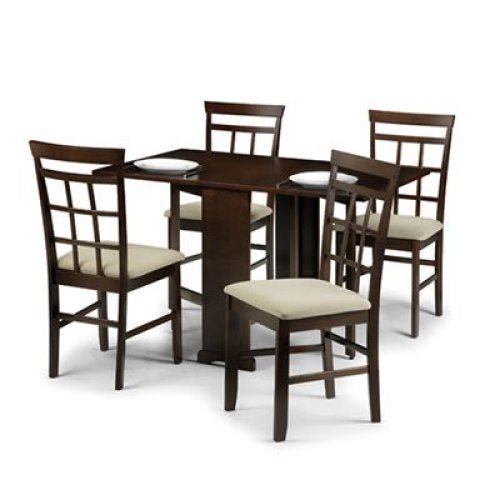 Bellow Gate-leg Folding Dining Set
