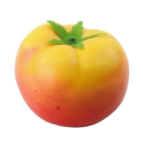 Set of 5 Artificial Vegetables Lifelike Vegetables Faux Vegetables, Tomato