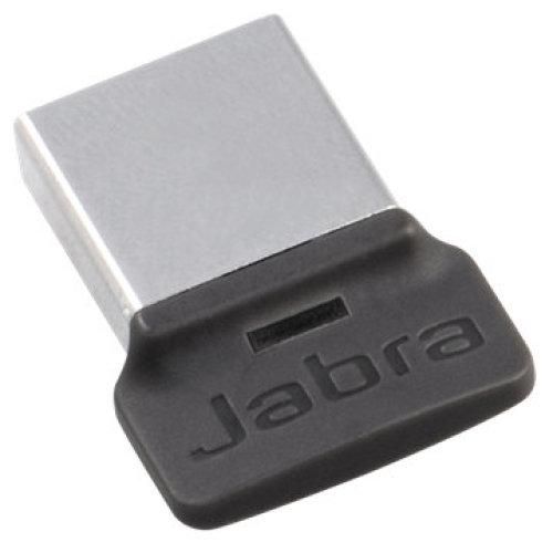 Jabra LINK 370 UC USB 30m Black, Silver Bluetooth audio transmitter