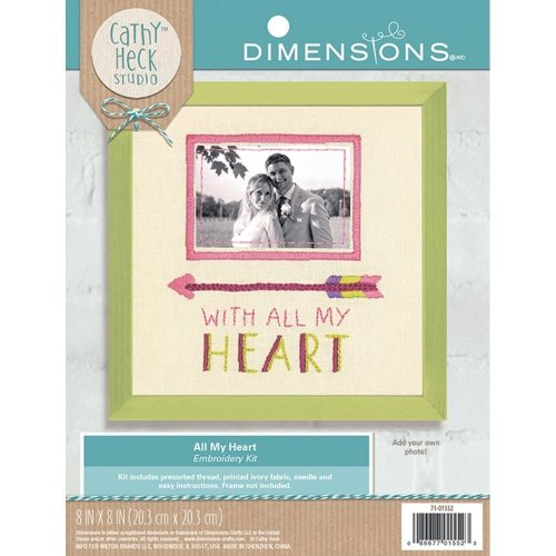 Dimensions Embroidery -All my Heart