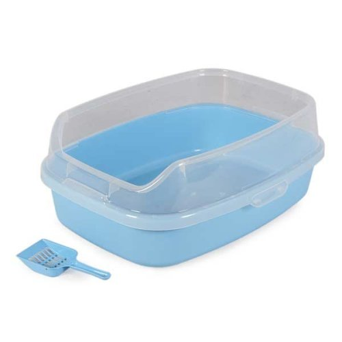 Anti-bacterial Cat Litter Tray with Scoop