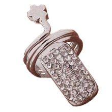 Fingernail Ring Protecting Fingernail Creative Ring Cute Nail Design Silvery