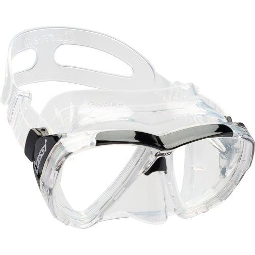 Cressi Big Eyes Scuba Diving and Snorkeling Mask - Transparent