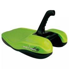 Nijdam Sledge Snowhoover Lime/Black 0260