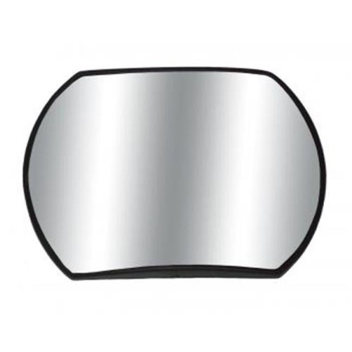 Cipa 49402 4 x 5.5 In. Oblong Stick-On Convex Hotspot Mirror