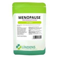 Lindens Menopause Formula 60 Tablets Red Clover Sage Liquorice Ginseng