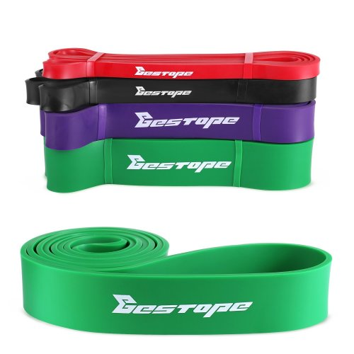BESTOPE Resistance Bands Pull Up Assist Bands for Powerlifting and Yoga Premium Latex Durable Workout Stretch Exercise Loop Crossfit Bands for Men...