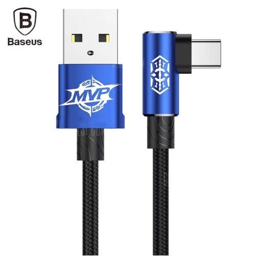 Baseus MVP Braided Type-C Cable 2 Metre Blue