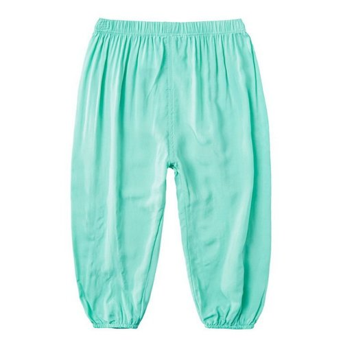 Comfortable Soft Children's Trousers, Pure Light Green