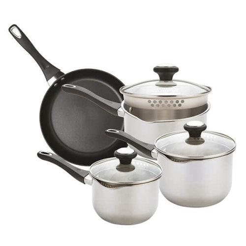 Prestige Strain Away 4 Piece Cookware Set