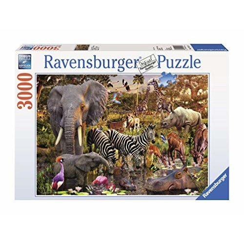 Ravensburger African Animals 3000 Piece Puzzle