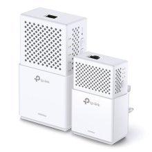 TP-LINK (TL-WPA75100 KIT) AC733 Wireless Dual Band Powerline Adapter Kit, AV2 1000, 1-Port
