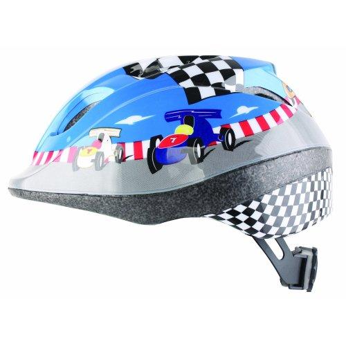 Bumper Boy's Race Car Helmets - Blue, 46-53 cm