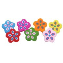 Lovely Flower Design Pushpins Drawing Pin 50 Pcs for shcool or office