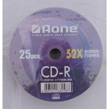 Aone Logo Non Printable CDR 52X 80 Min 700mb