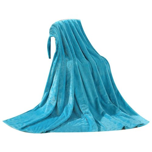 Blue Baby Summer Air Conditioning Coral Carpet Infant Towel Blanket