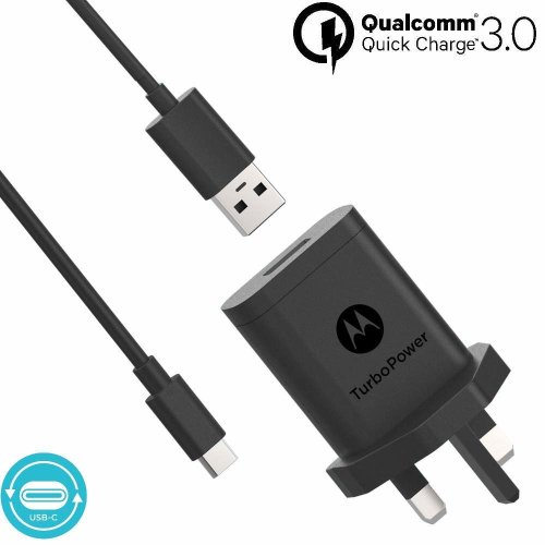 //G6//G6 Plus//Z2 Force//Z2 Play//X4-36W Quick Charge 3.0 Two-Port USB Adapter with 6FT Braided USB Type C to A Charging Cable Cord Power, Play, Plus iRAG Car Charger for Moto Z3 Play//G7