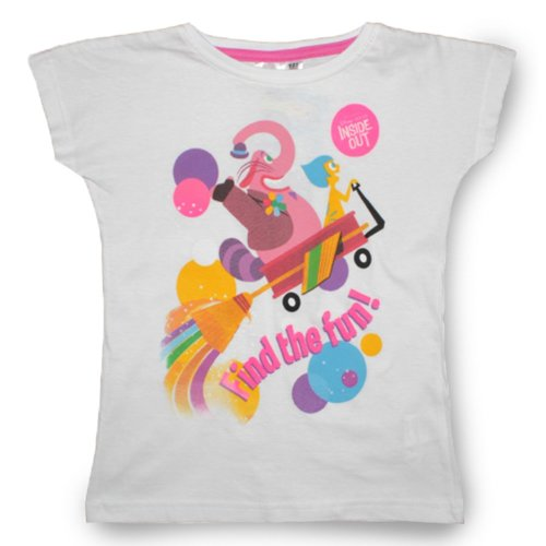 Inside Out T Shirt - Fun White