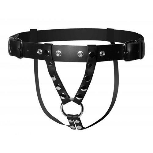 Leather dildo harness  BDSM Bondage - Strict Leather