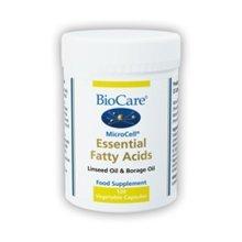 Biocare Microcell Essential Fatty Acids (linseed Oil & Gl 120 Vegicaps
