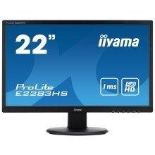 "Iiyama Prolite E2283hs-b1 21.5"" Full Hd Tn Black Computer Monitor Led Display"