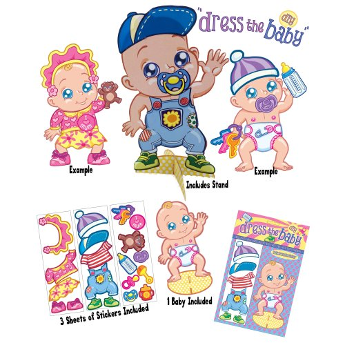 Dress The Baby Game