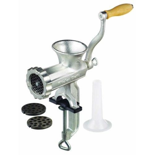 No.8 Cast Iron Meat Mincer - No8 Kitchen Craft Italian Collection -  cast iron mincer no8 kitchen craft italian collection