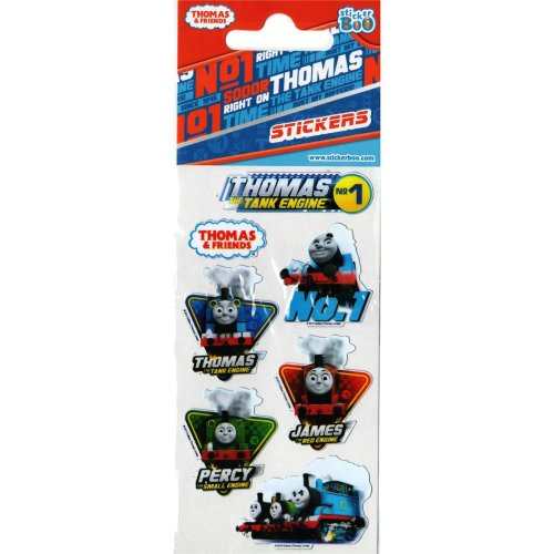 Thomas the Tank Engine Stickers - Set of 3 Sheets