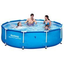 Bestway Steel Pro Round Swimming Pool 305 x 76 cm Steel Frame 56406
