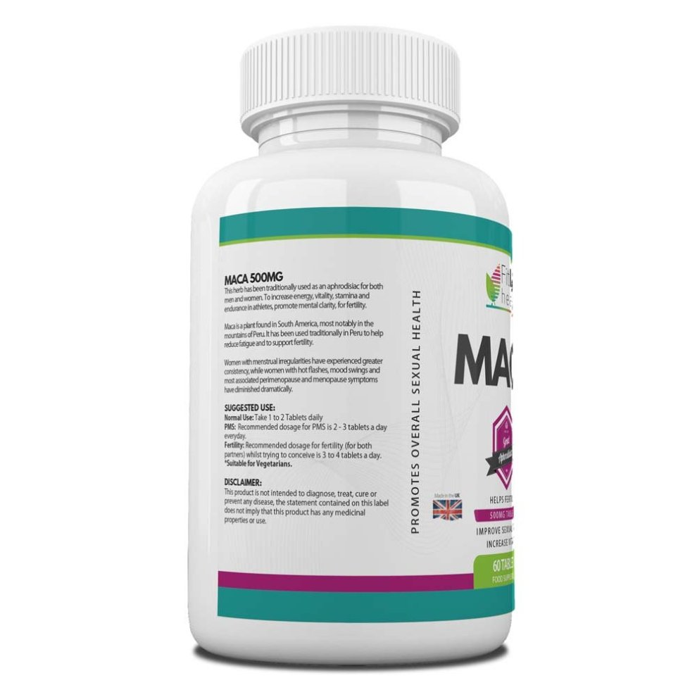 Korean Ginseng And Maca Root Extract Combo by Fit Life Health - Boosts  Concentration, Energy And Libido - 60-Day Supply - Top Quality  Supplements
