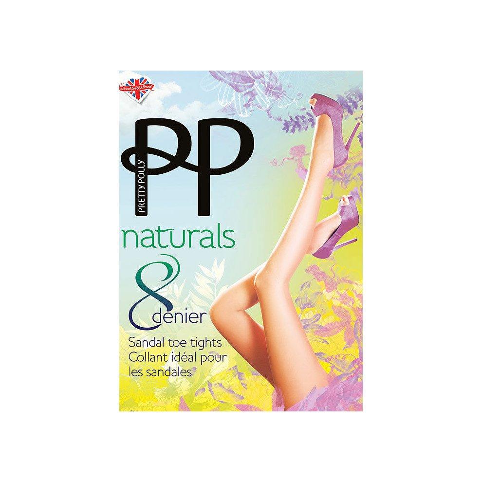 cc3e8e5a1403d Pretty Polly Naturals Sandal Toe Tights on OnBuy
