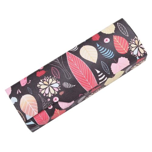 PU Leather Eyeglass Case Glasses Storage Case Protective Case for Glasses - 39