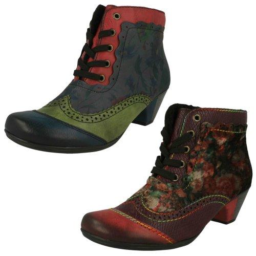 Ladies Rieker Fleece Lined Ankle Boots Y7213