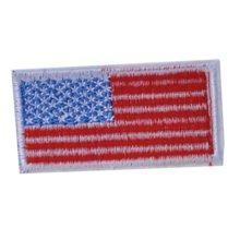 """Set of 2 Creative Fashion Unique US Flag Patches Armband Badge Applique 2.7*1.3"""""""