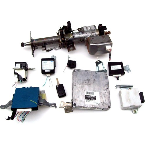 Toyota Corolla Verso 2006 ECU Kit & Steering Column 89661-0F030