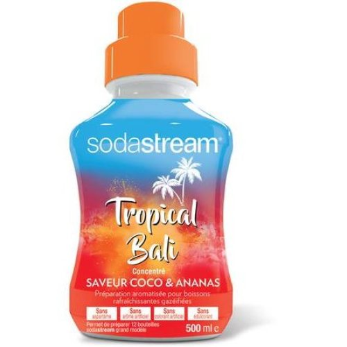 Sodastream Concentrate Syrup 500ml. Tropical Bali